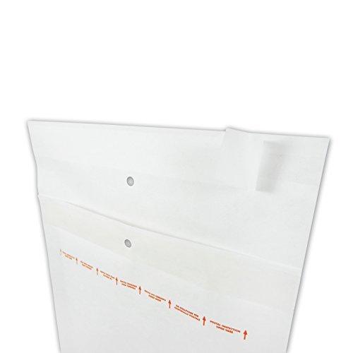 100 Luftpolsterversandtaschen Luftpolsterumschlaege Groesse C/3 von Versando Ideal zum Versenden von CD und Wiederverschliessbar auch als Warensendung -