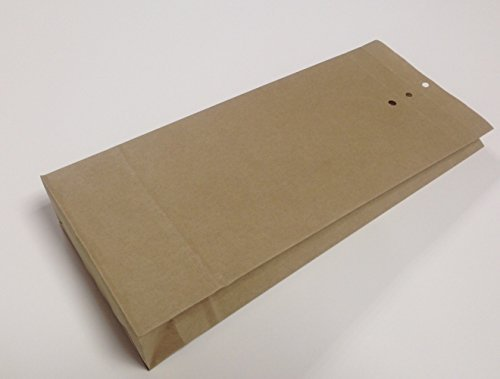 100 Musterbeutel B3- 240 x 415 x 50 mm Natron-Kraftpapier braun -