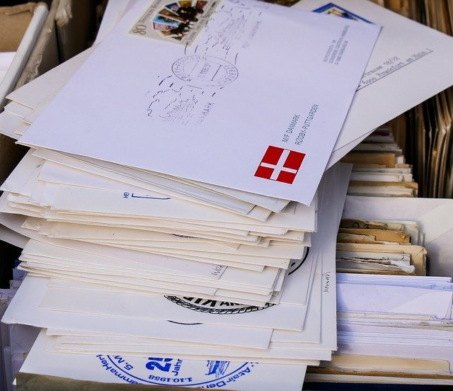Brief beschriften Empfänger